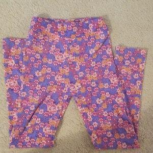 Lularoe Mommy and Me L/XL leggings